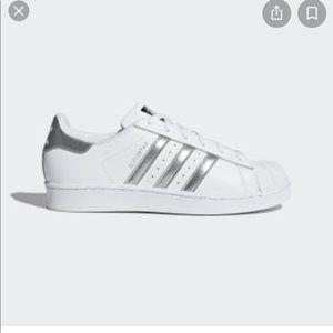 Adidas Superstar Silver Stripe